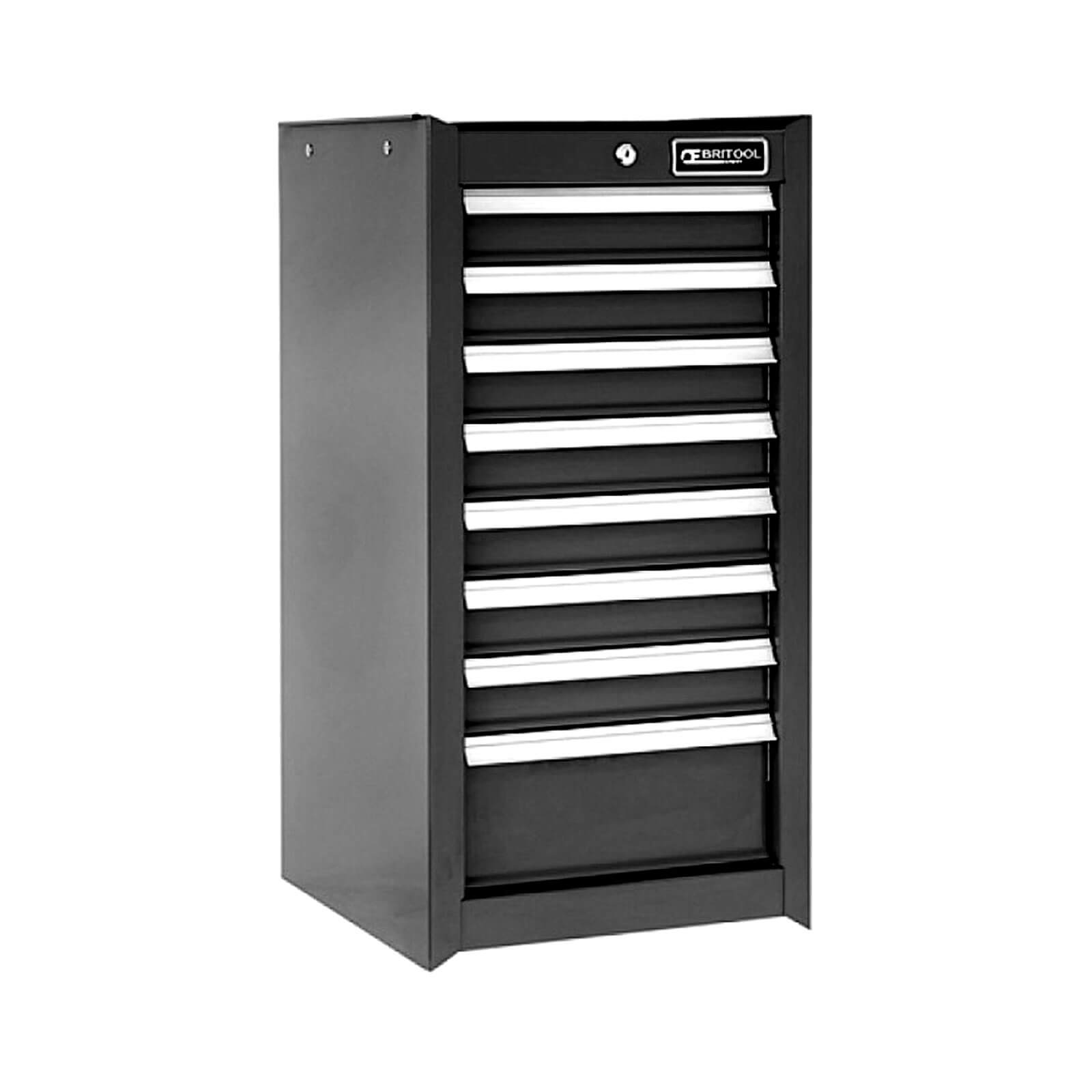 Image of Britool 8 Drawer Tool Cabinet Black