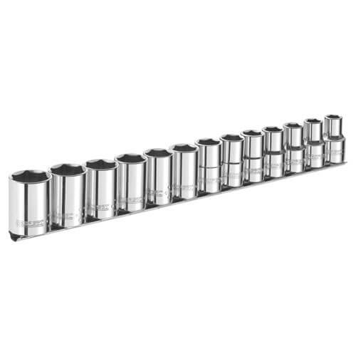 """Image of Britool 13 Piece 3/8"""" Drive Hex Socket Set Imperial 3/8"""""""