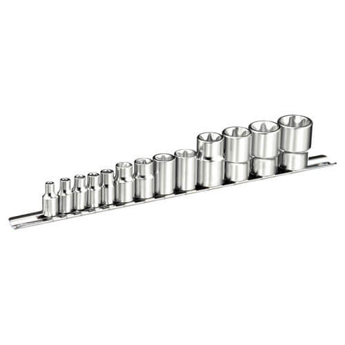 Click to view product details and reviews for Expert By Facom 13 Piece Combination Drive Torx Socket Set Metric Combination.