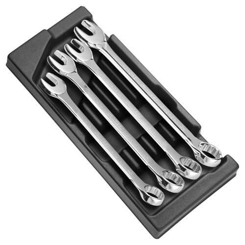 Click to view product details and reviews for Expert By Facom 4 Piece Combination Spanner Set In Module Tray.