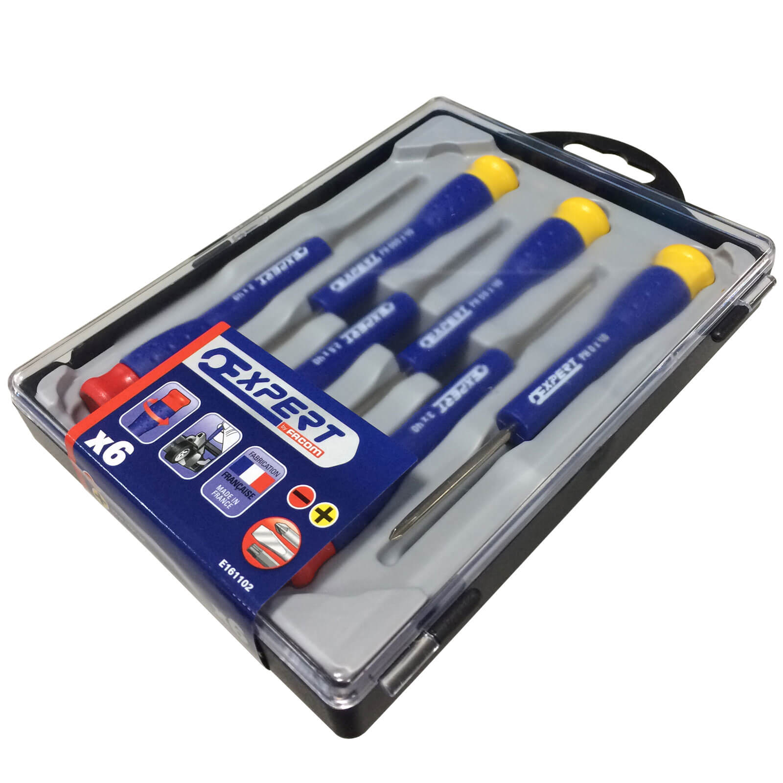 Click to view product details and reviews for Expert By Facom 6 Piece Micro Screwdriver Set.