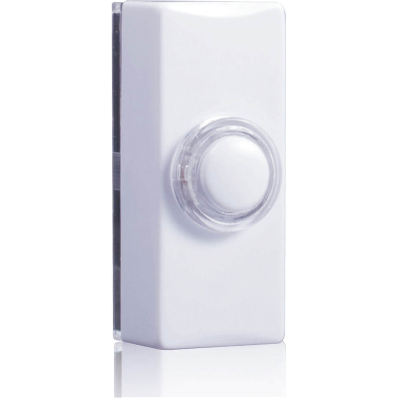 Image of Byron Glow Door Bell Push White