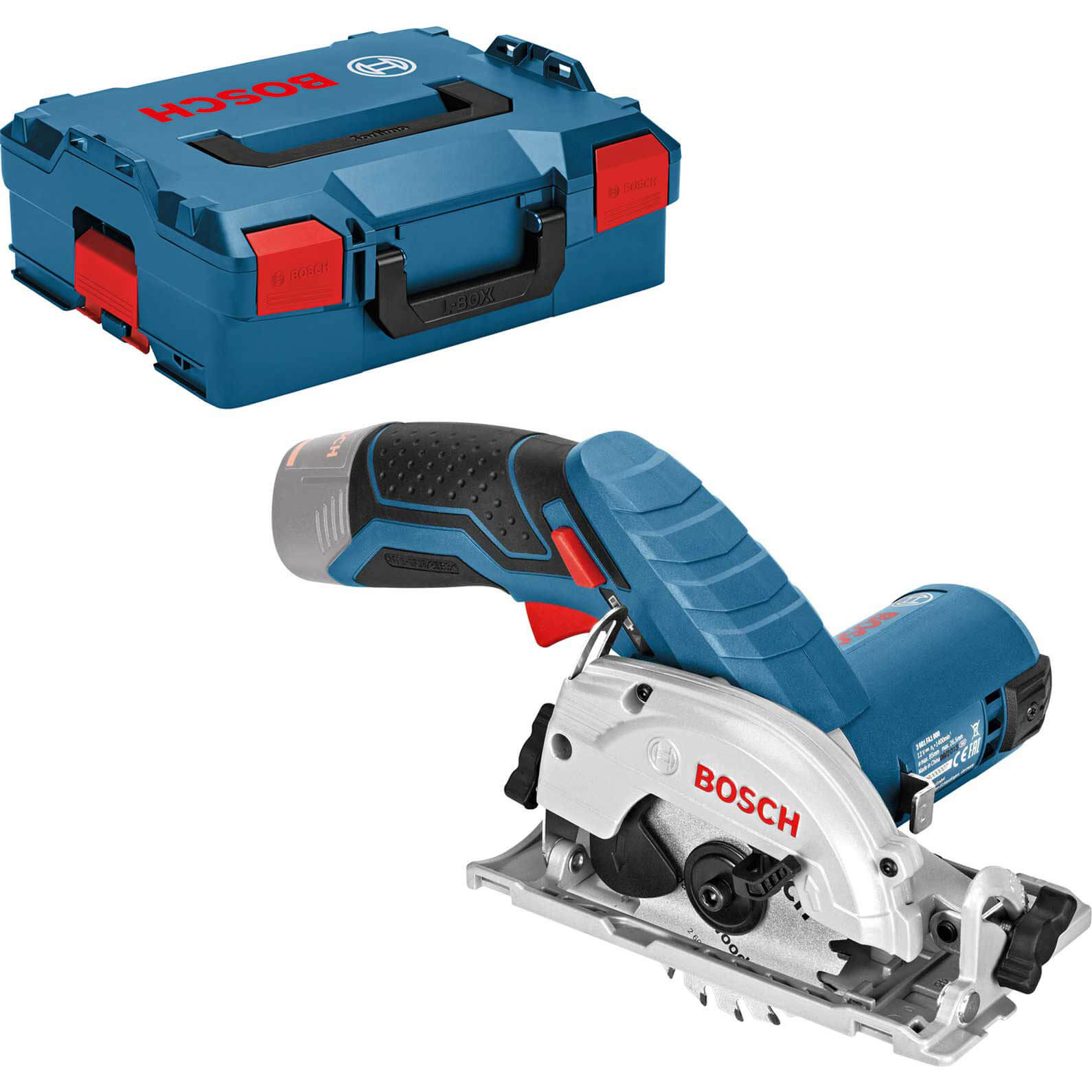 Image of Bosch GKS 12V-26 12v Cordless Circular Saw 85mm No Batteries No Charger Case