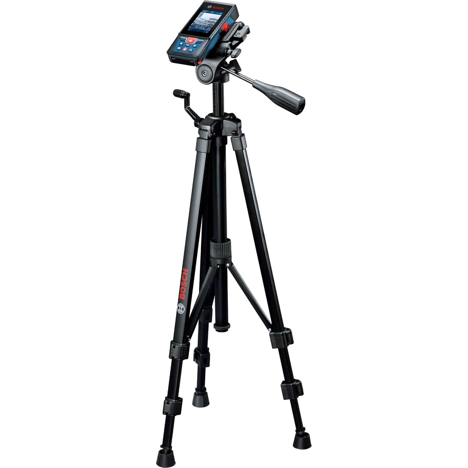 Image of Bosch GLM 120 C Professional Laser Measure + BT 150 Tripod