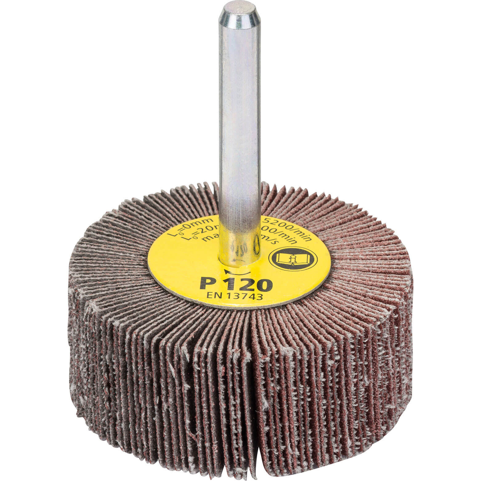 Image of Bosch Abrasive Flap Wheel 50mm 20mm 120g