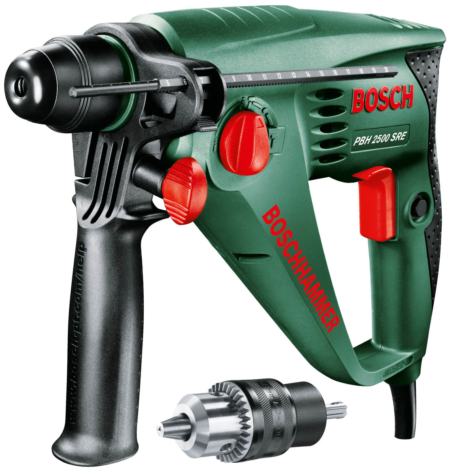 zzz bosch pbh 2500 sre rotary hammer drill. Black Bedroom Furniture Sets. Home Design Ideas