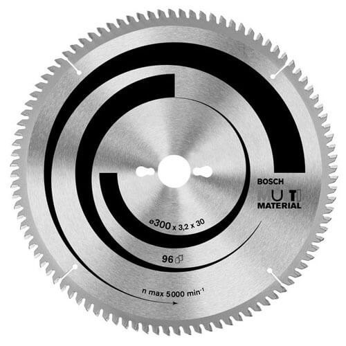 Bosch Multi Material Cutting Mitre & Table Saw Blade 305mm 80T 30mm