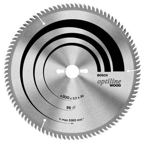 Bosch Optiline Wood Cutting Table Saw Blade 350mm 54T 30mm