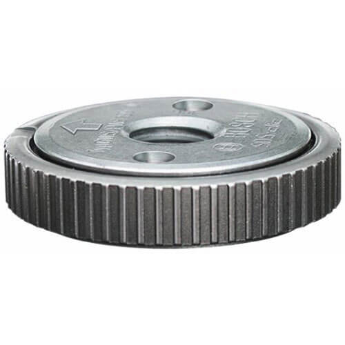 Image of Bosch SDS Clic Quick Change Flange Locking Nut For Angle Grinders