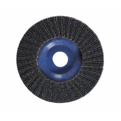 Image of Bosch Zirconium Abrasive Flap Disc 100mm 40g