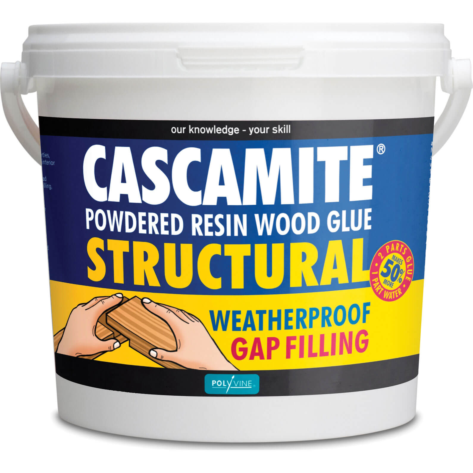 Image of Humbrol Cascamite One Shot Wood Adhesive 1.5kg