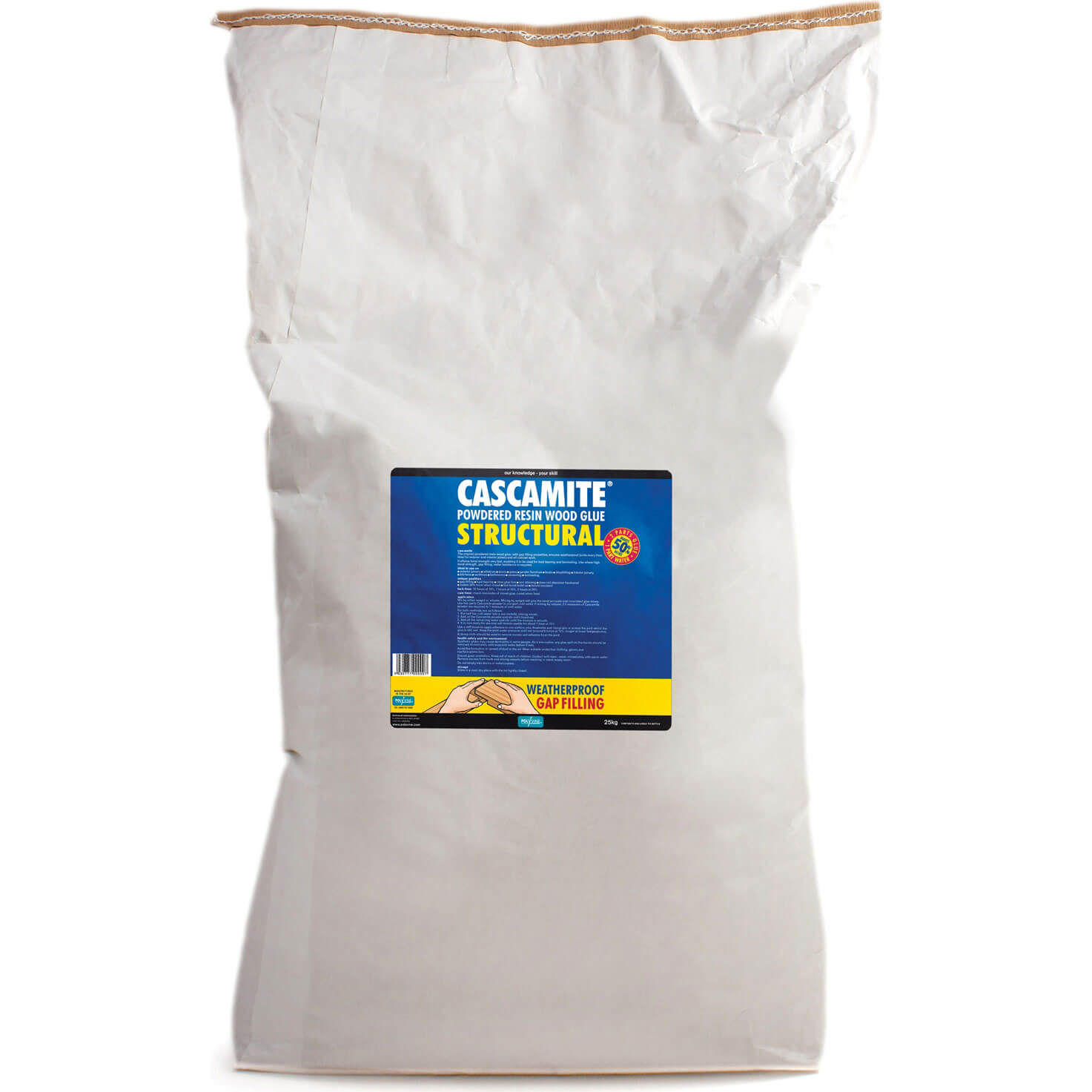 Image of Humbrol Cascamite One Shot Wood Adhesive 25kg