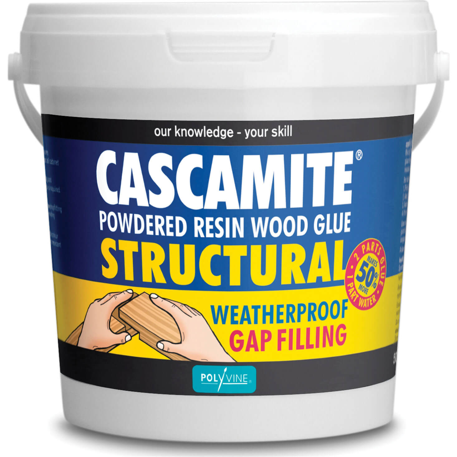 Image of Humbrol Cascamite One Shot Wood Adhesive 500g