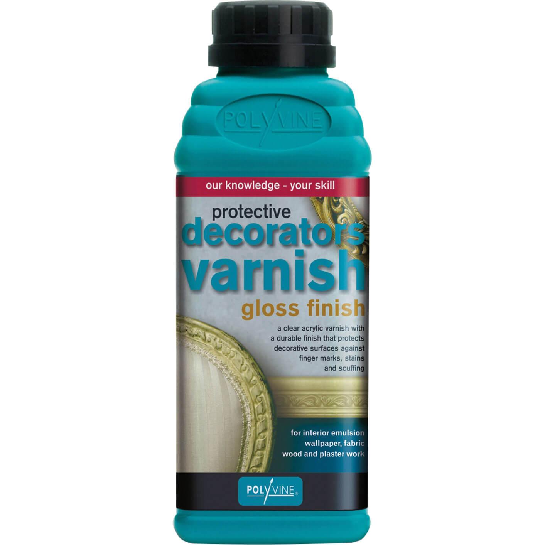 Image of Polyvine Decorators Varnish Gloss 500ml