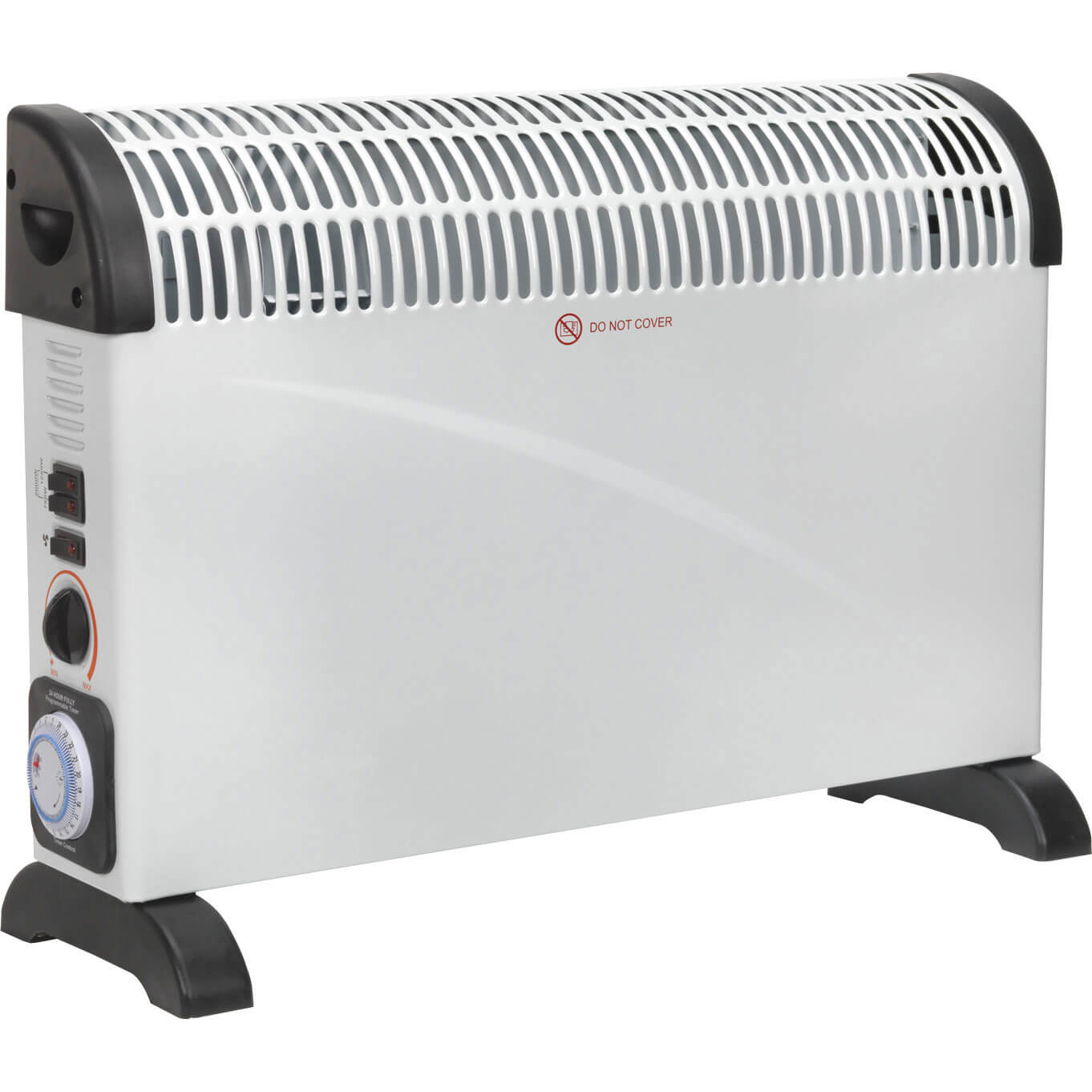 Image of Sealey CD2005TT Electric Convector Heater Turbo Fan 2000W 240v