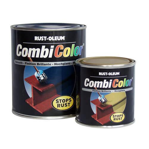 Image of Rust Oleum 769 Damp Proof Rust Primer Metal Paint Red 1l