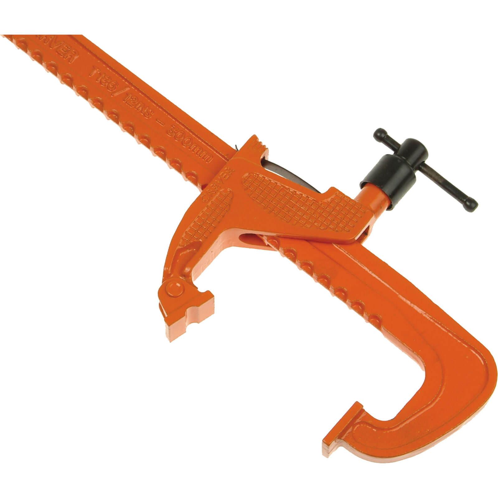 Image of Carver T186 Standard Duty Rack Clamp 500mm