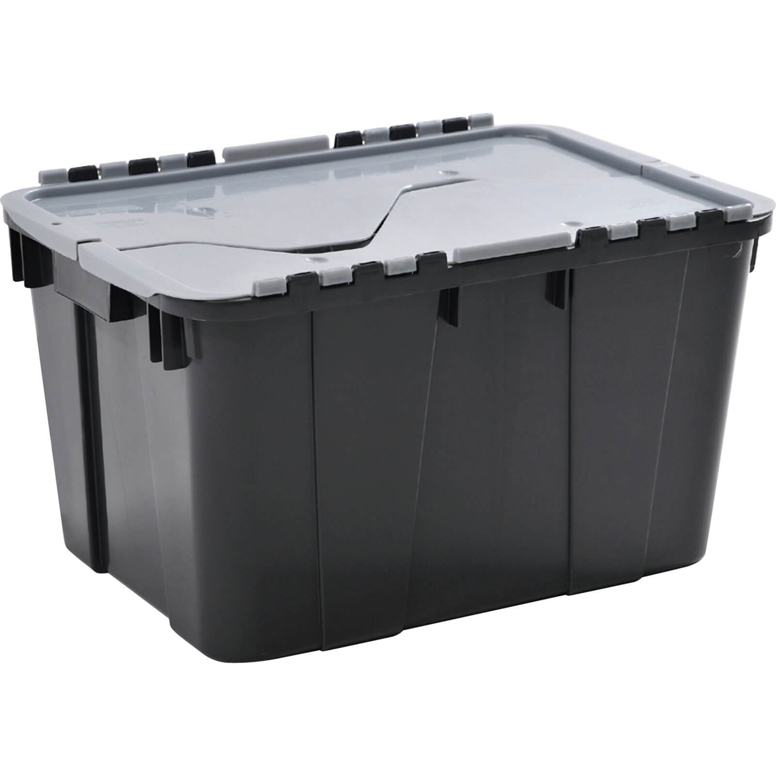 Image of Contico Shatterproof Tuff Storage Crate 55l