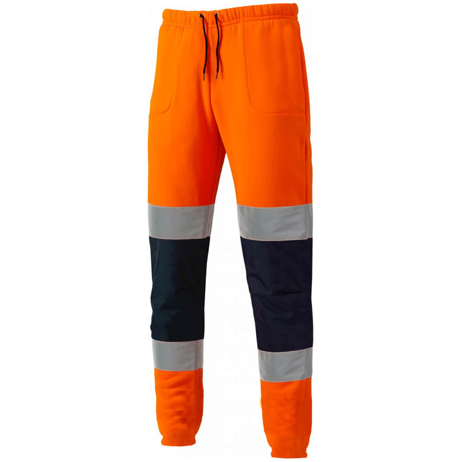 Image of Dickies High Vis Jogger Orange / Navy 2XL