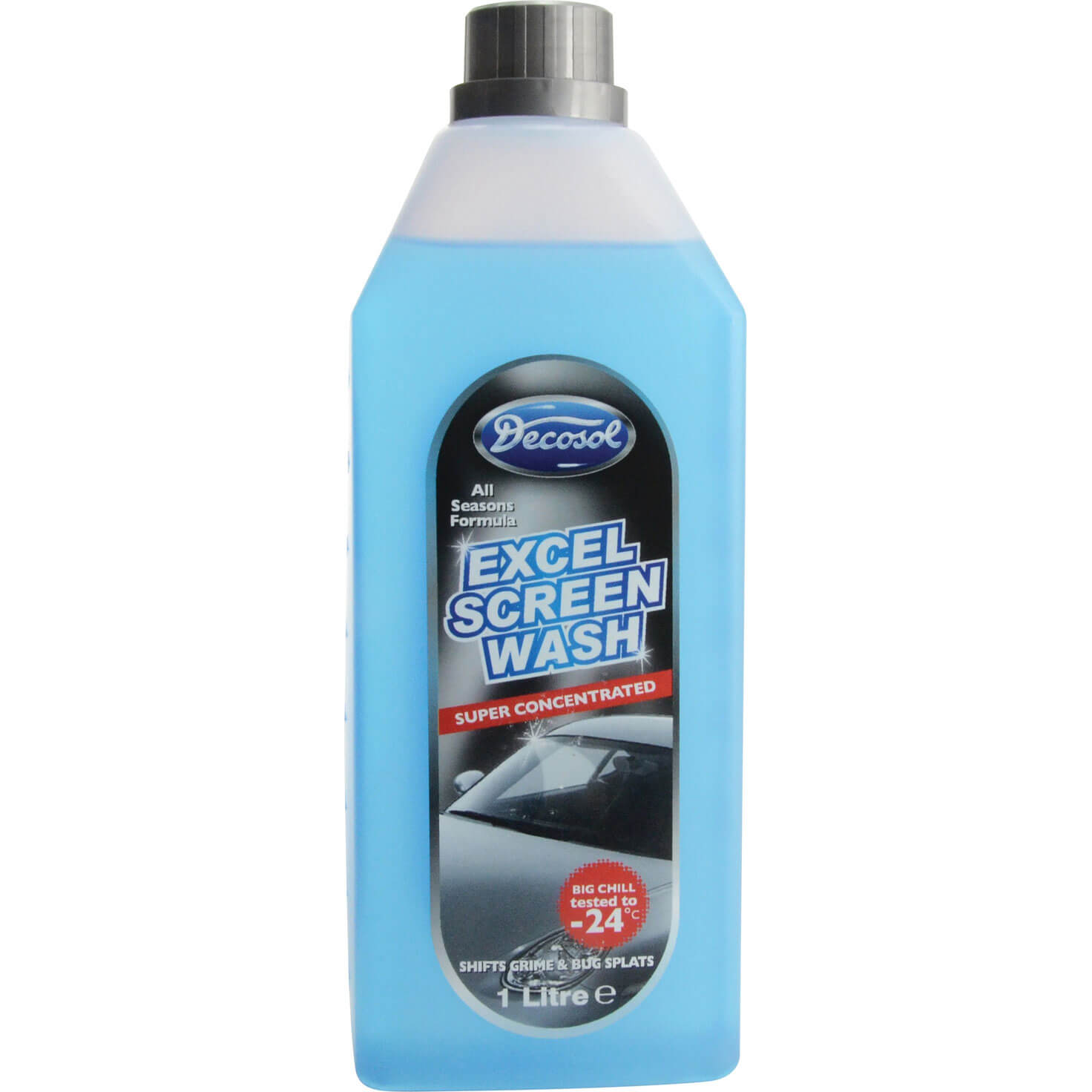Decosol Excel Concentrated Screen Wash 1l