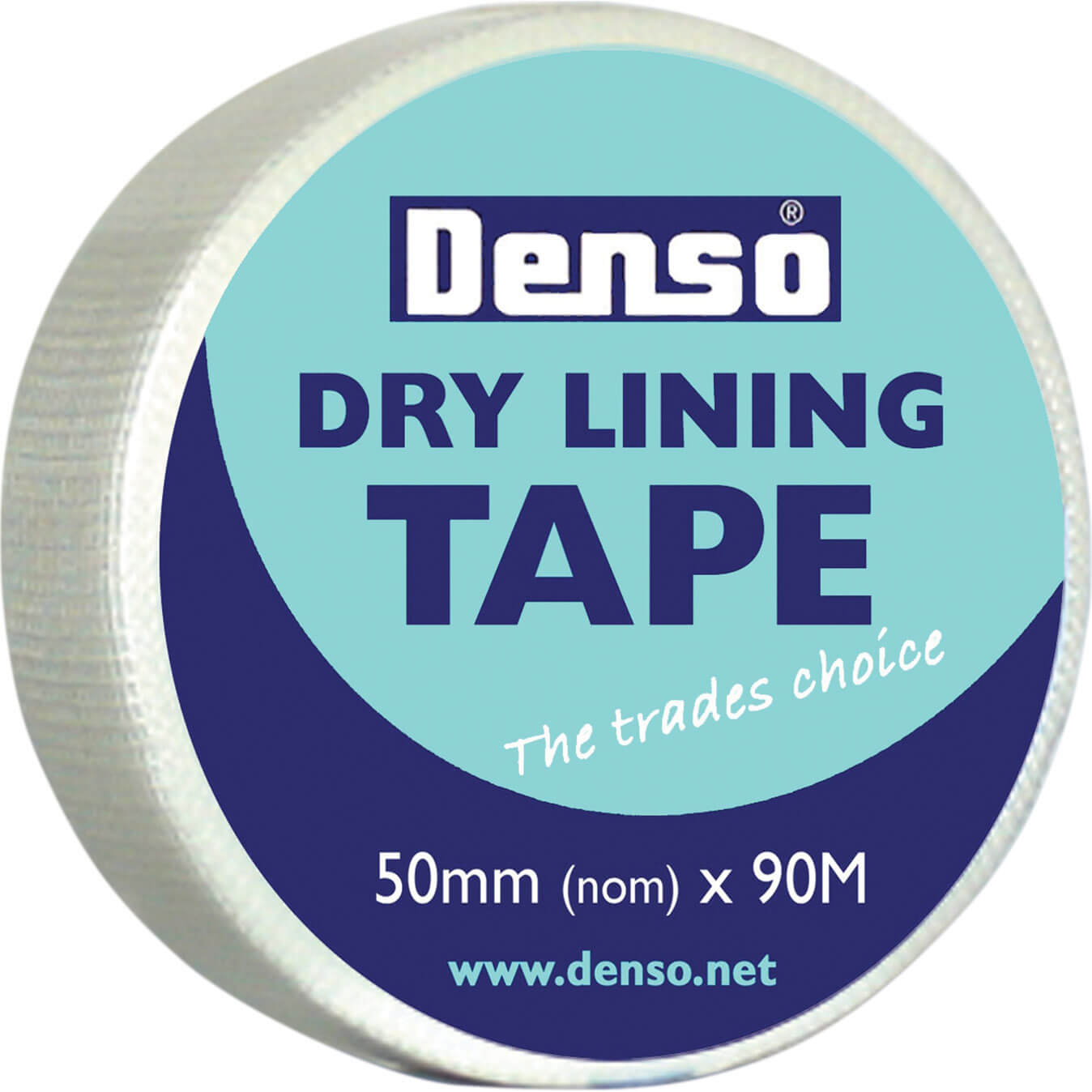 Image of Denso Dry Lining Tape White 50mm 90m
