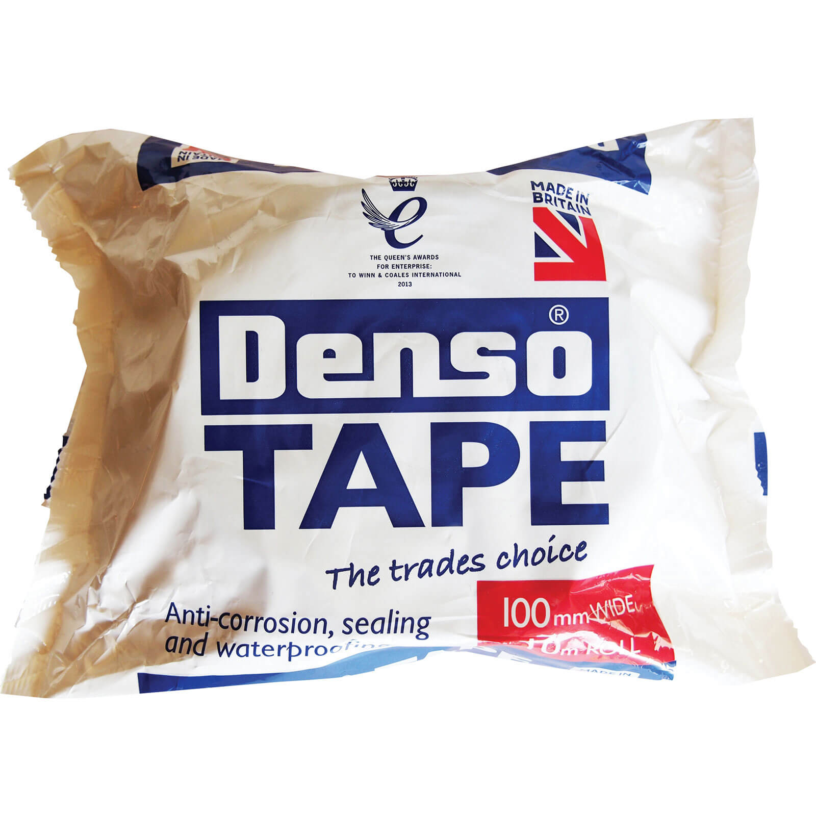 Image of Denso Tape Brown 100mm 10m