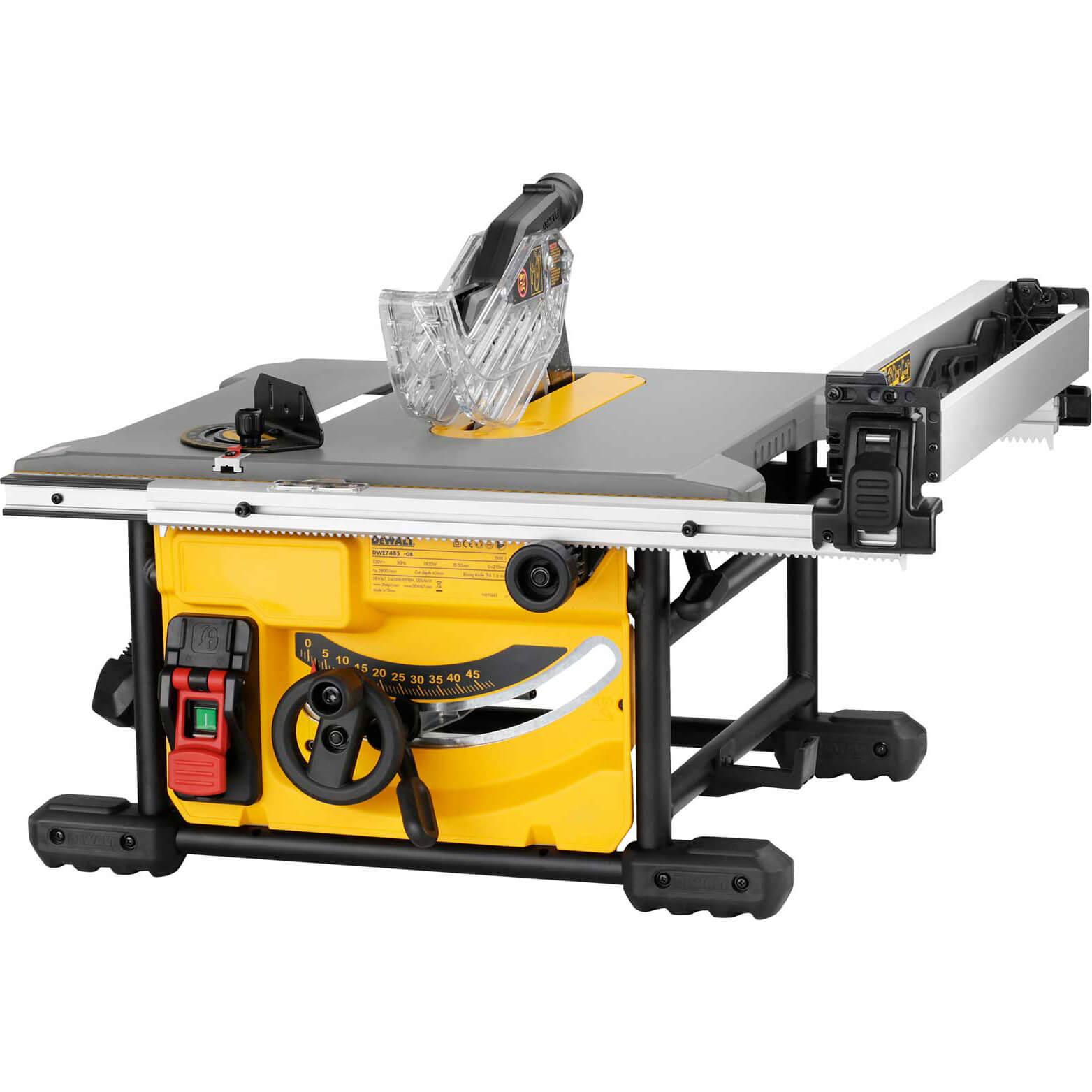 Dewalt DWE7485 Compact Table Saw 250mm | Table Saws