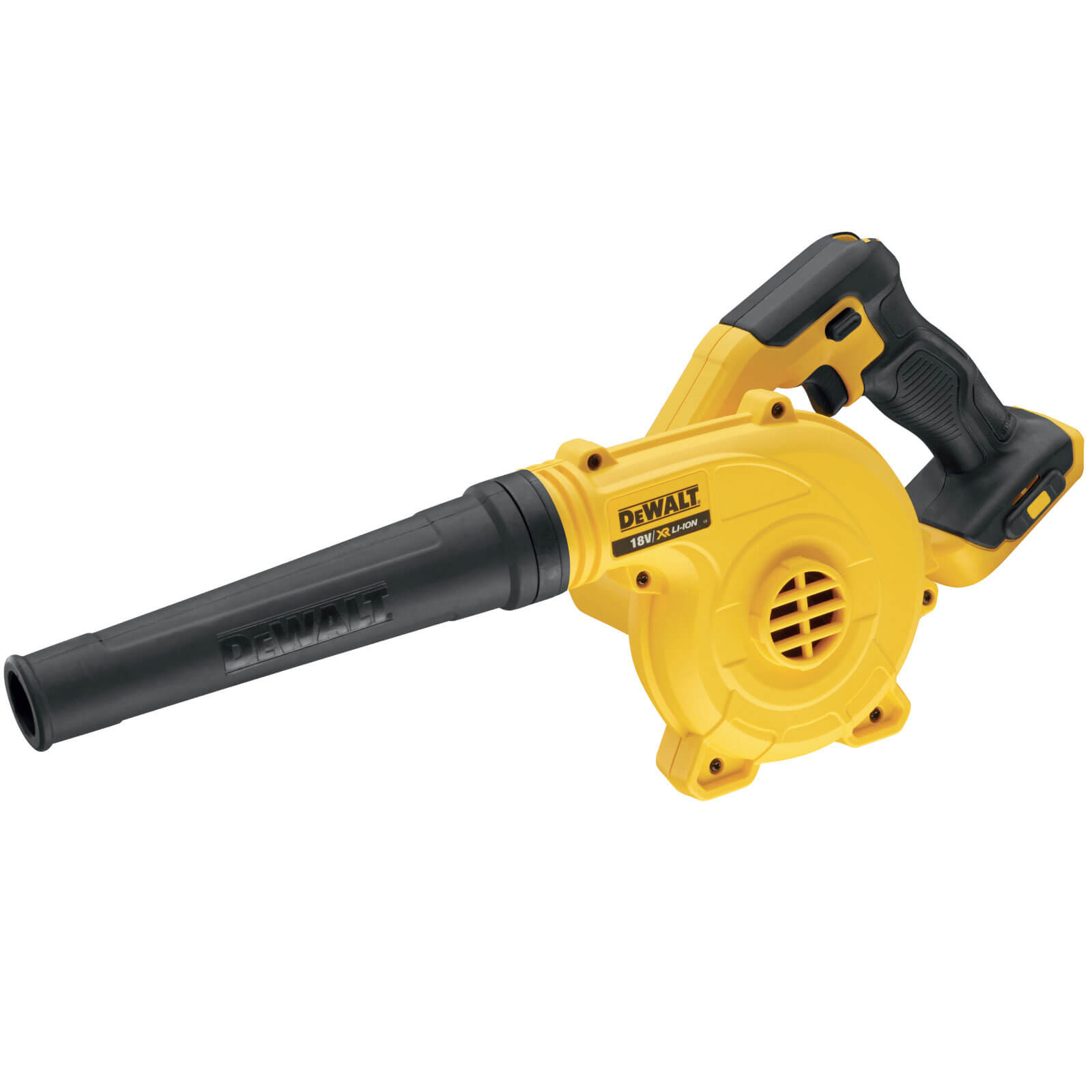 dewalt dcv100 18v xr cordless compact blower. Black Bedroom Furniture Sets. Home Design Ideas
