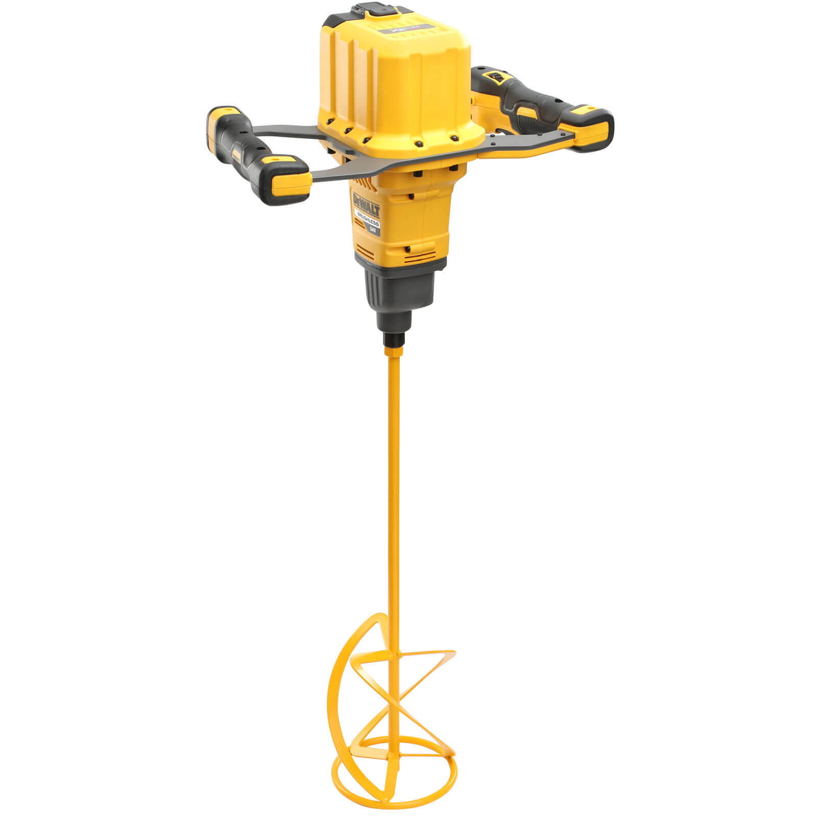 Image of DeWalt DCD240 54v Cordless XR FLEXVOLT Paddle Mixer No Batteries No Charger No Case