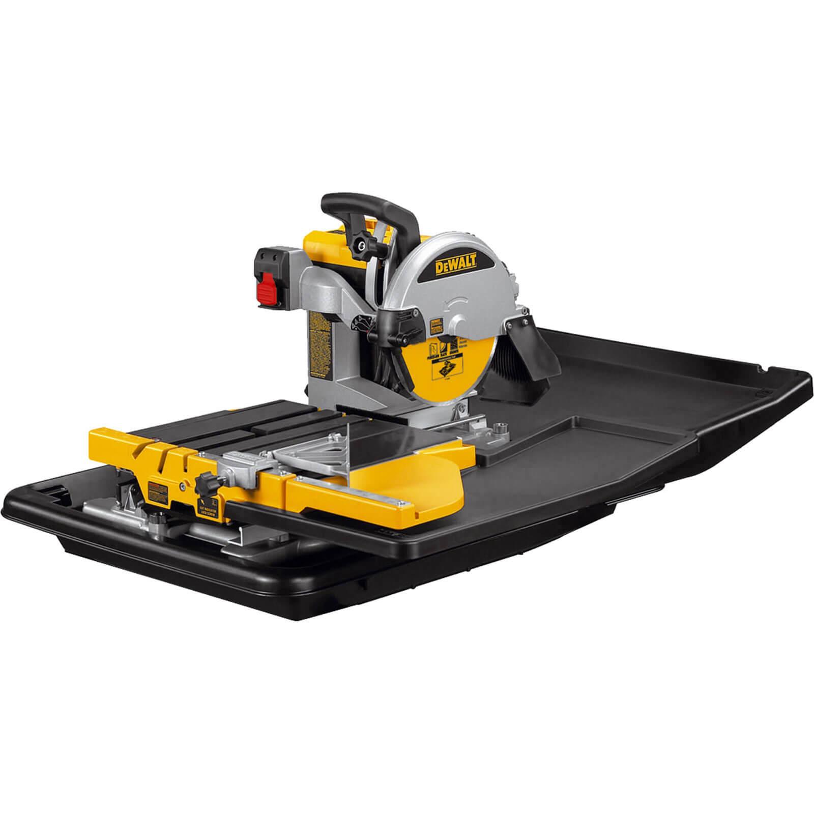 Image of DeWalt D24000 Wet Table Tile Saw 240v