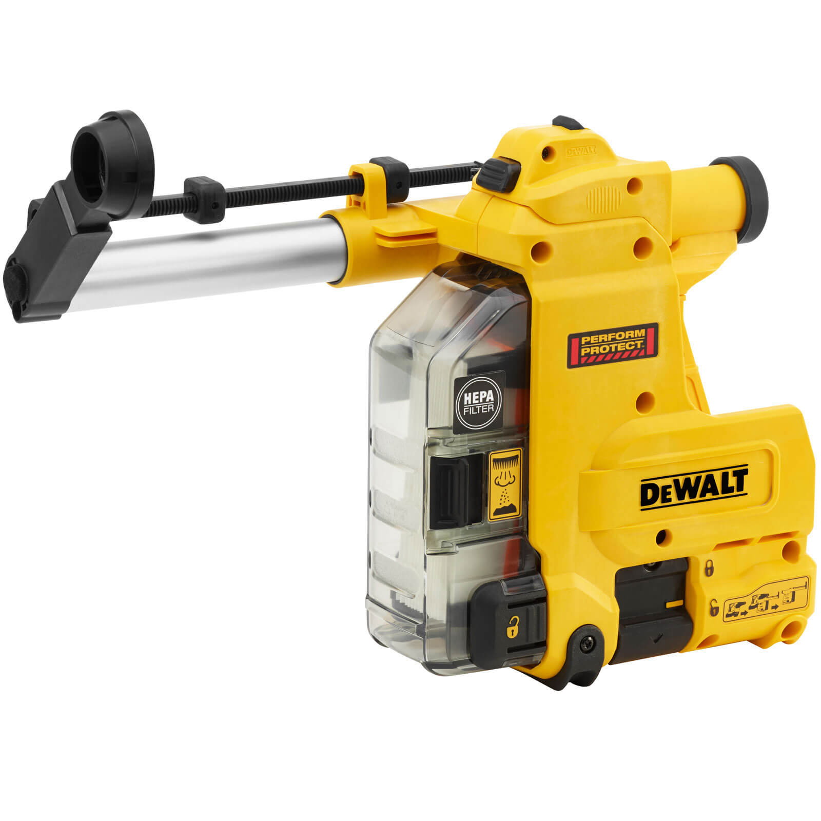 Image of DeWalt D25304DH Integrated Hammer Drill Dust Extractor
