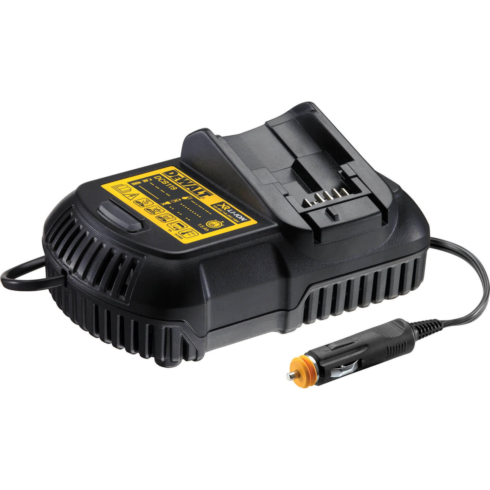 DeWalt DCB119 XR 18v Cordless Liion Car Battery Charger 12v