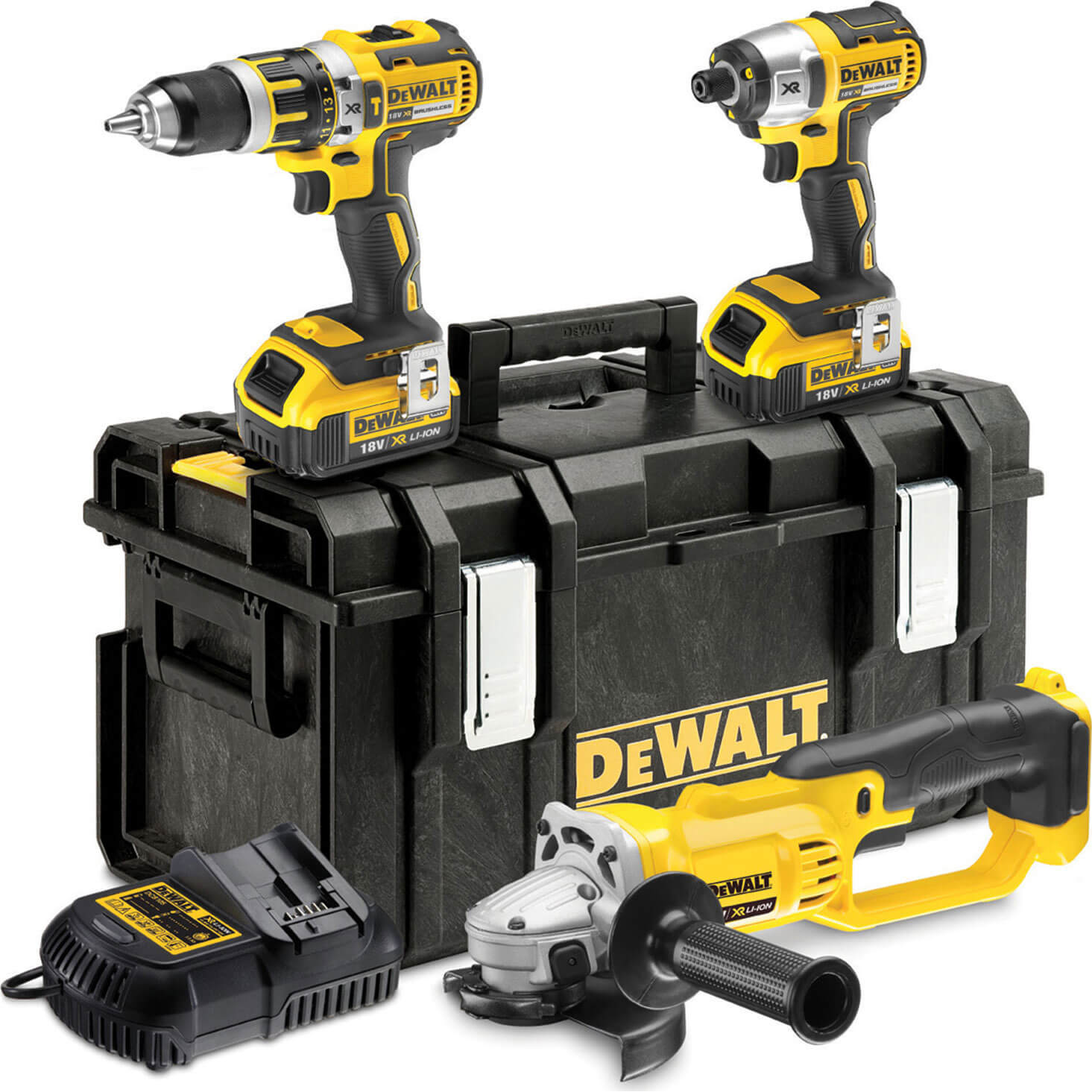 DeWalt DCK382M2 18v XR Cordless Brushless Tool Kit