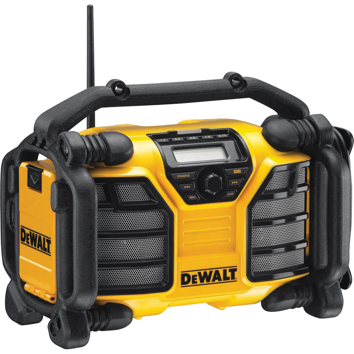 Image of DeWalt DCR017 XR DAB Job Site Workshop Radio & Battery Charger 240v