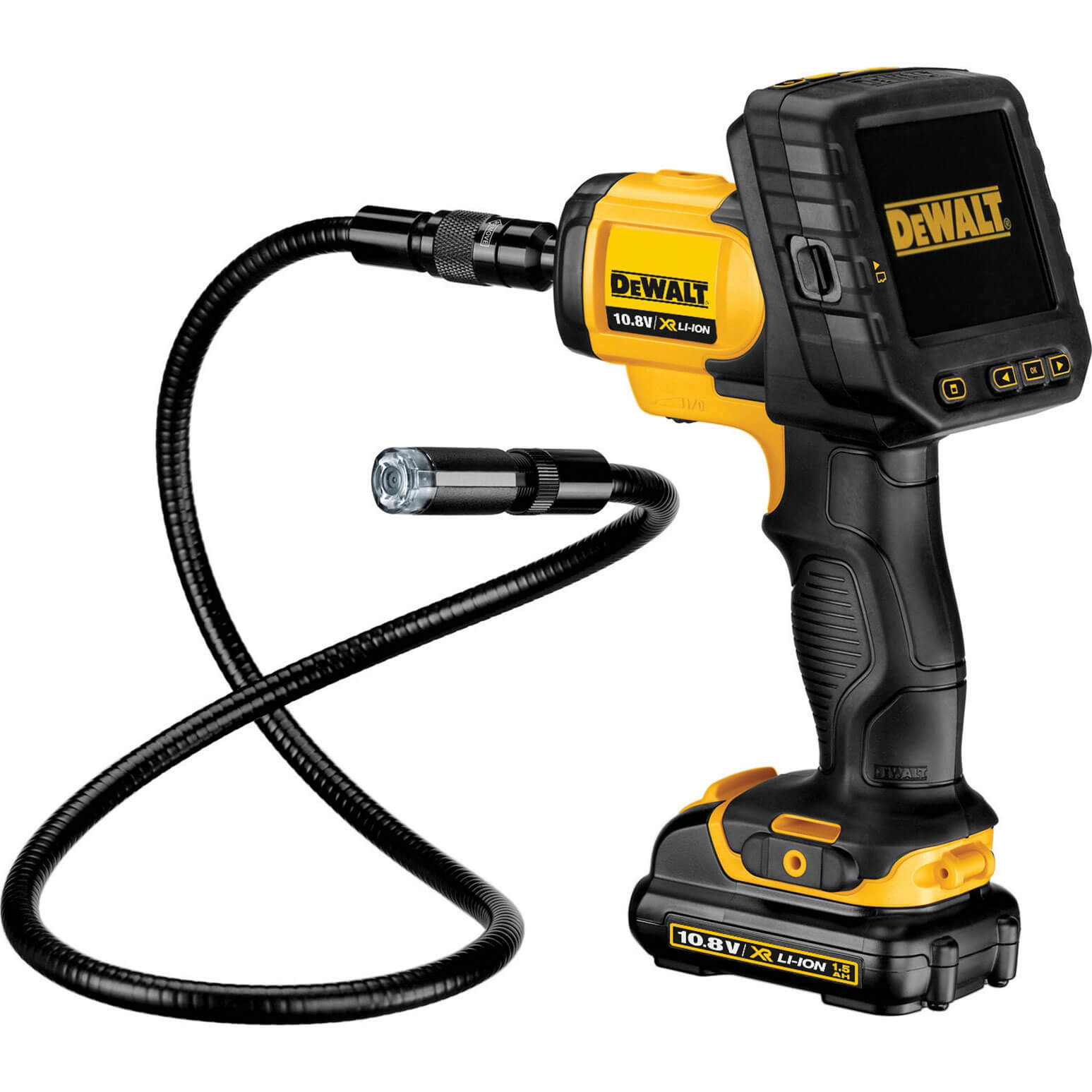 Image of DeWalt DCT410 10.8v XR Inspection Camera 1 x 2ah Li-ion Charger Case