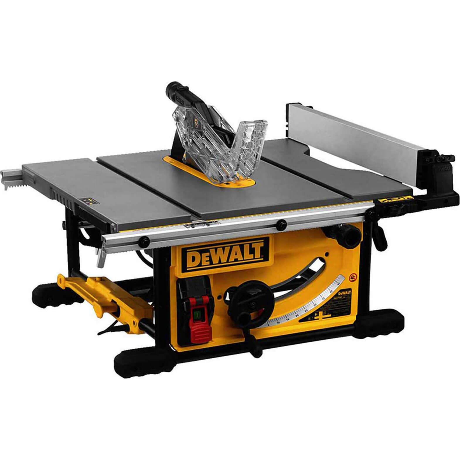DeWalt DWE7492 Portable Table Saw 250mm 110v
