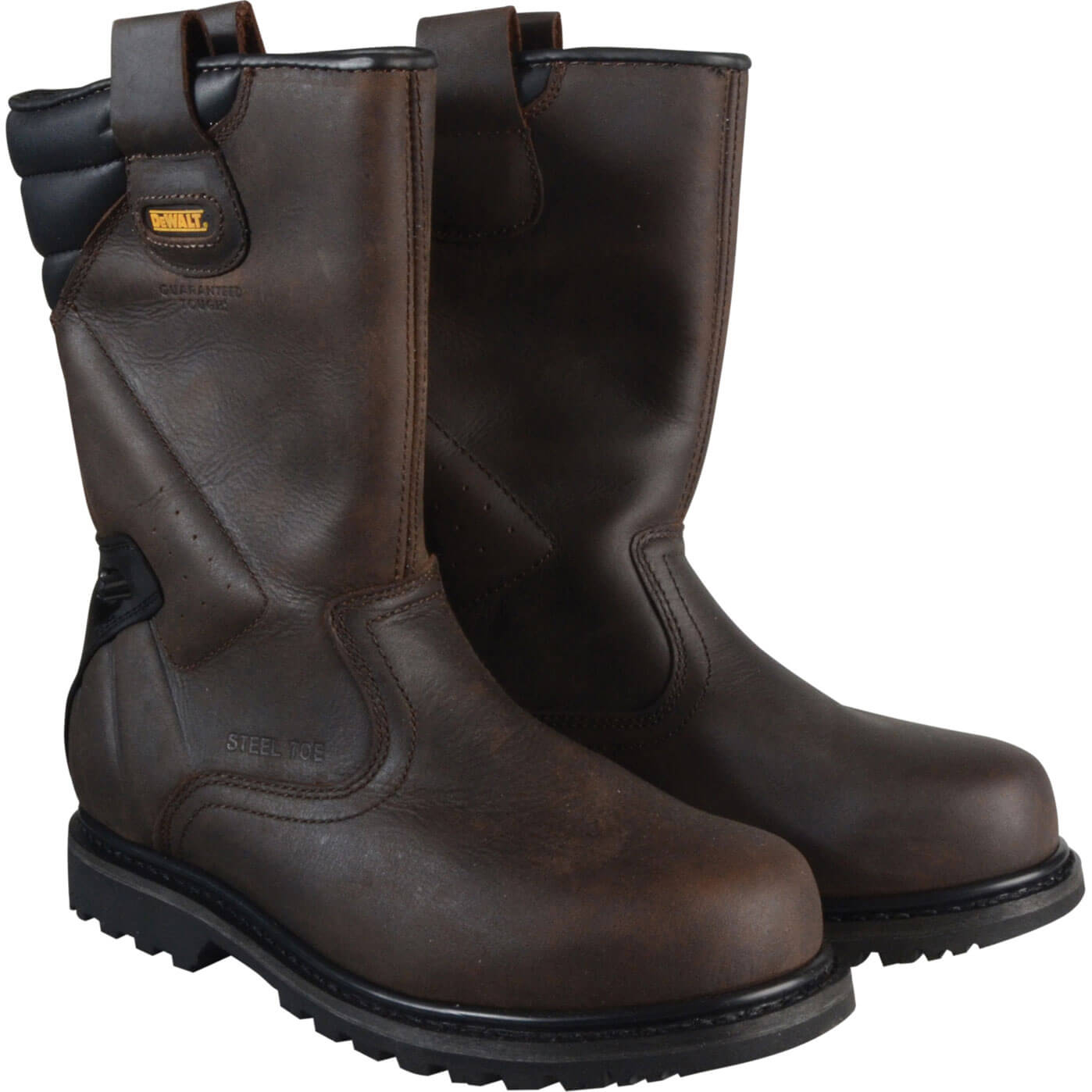 DeWalt Mens Rigger Safety Boots Brown 11