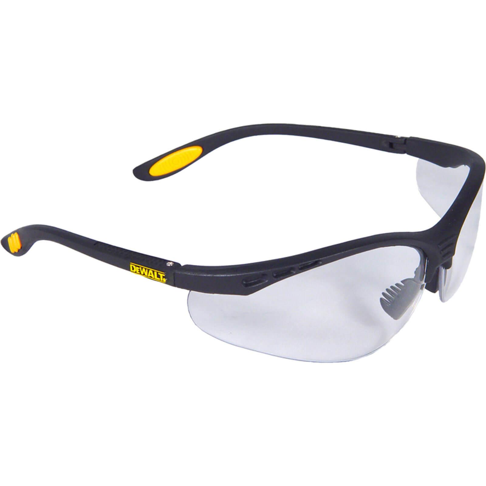 DeWalt Reinforcer Clear Safety Glasses