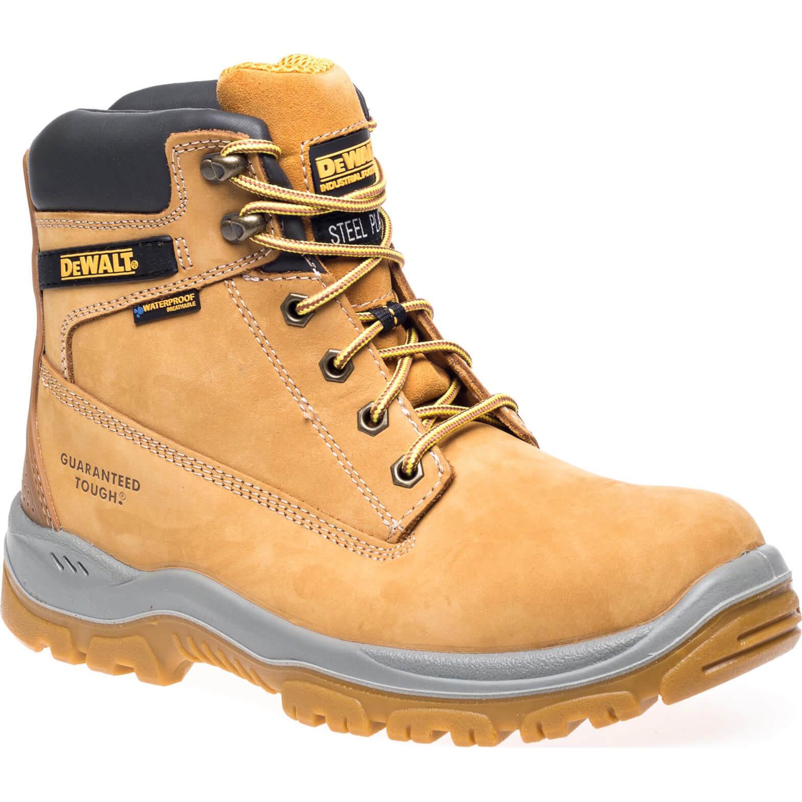 DeWalt Mens Titanium S3 Safety Boots Honey Size 11