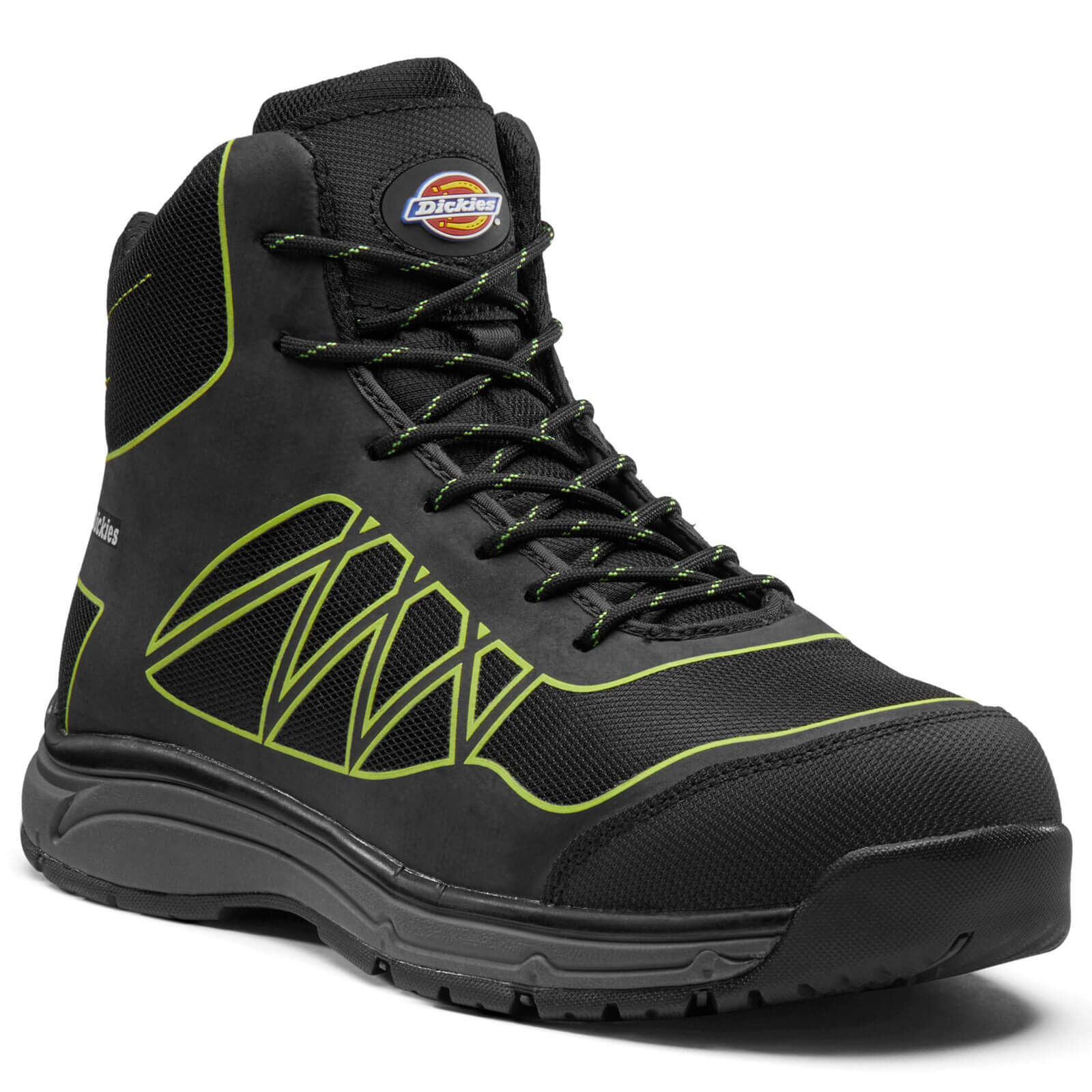 Dickies Mens Phoenix Work Boots Black