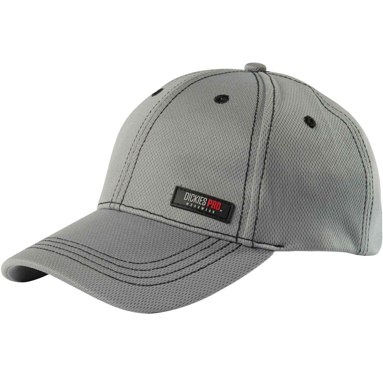 Image of Dickies Pro Cap Grey/ Black One Size