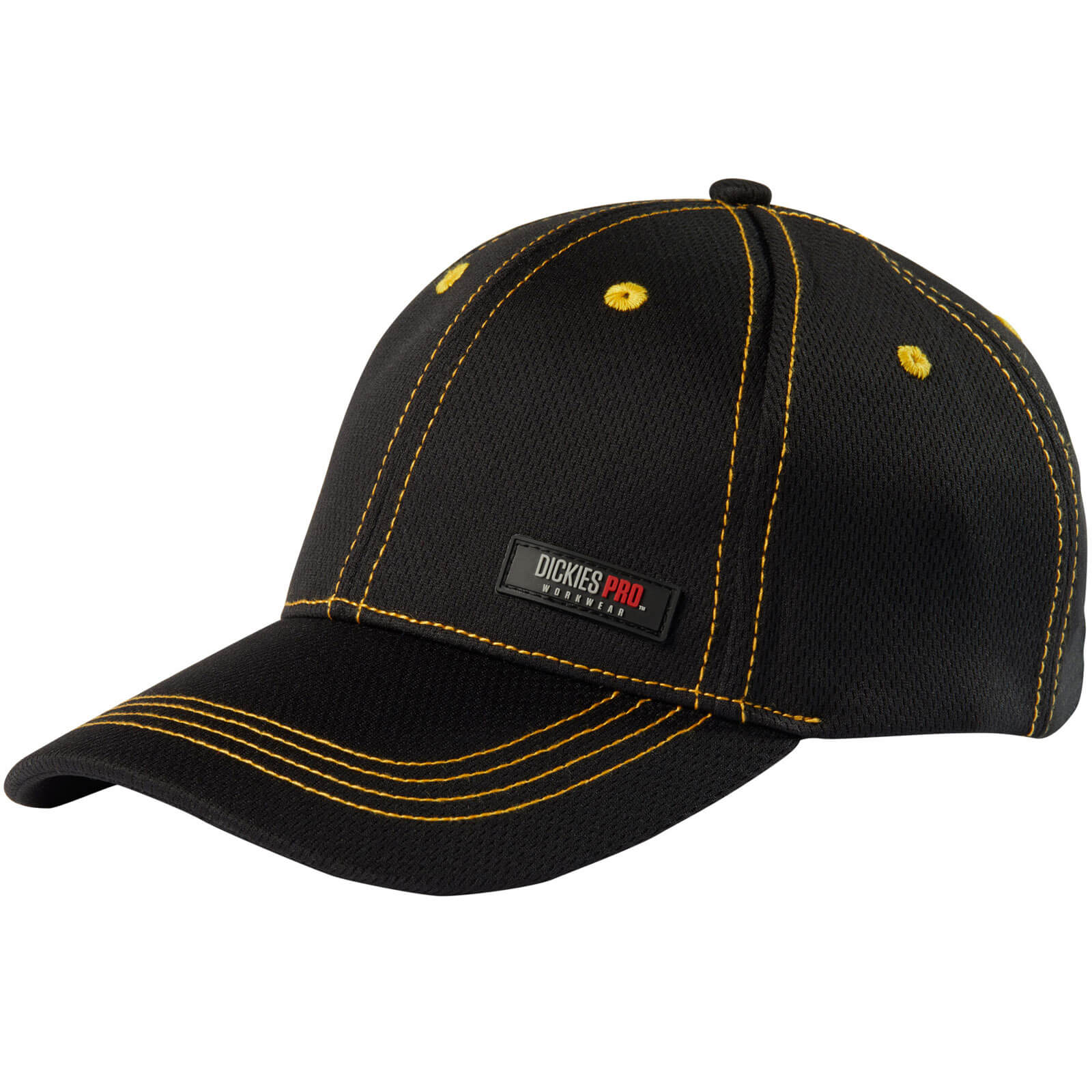 Image of Dickies Pro Cap Yellow / Black One Size