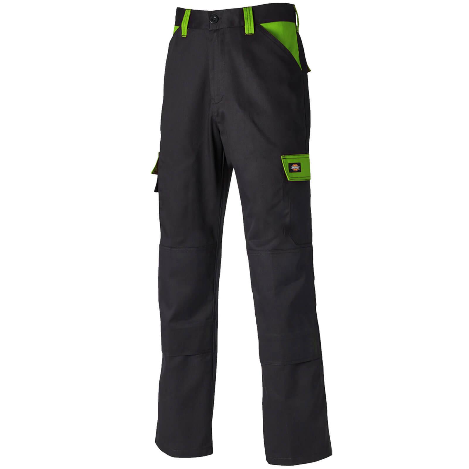 Dickies Everyday Trouser Black  Lime 34