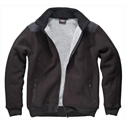 Image of Dickies Mens Eisenhower Fleece Jacket Black 2XL