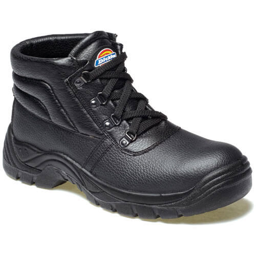Dickies Mens Redland Safety Chukka Boots Black 13