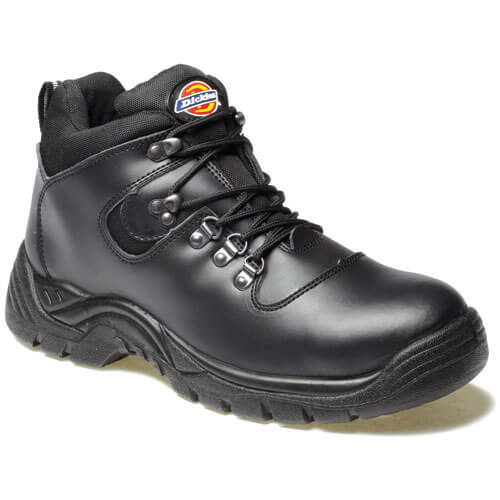 Dickies Mens Fury Safety Hiker Boots Black