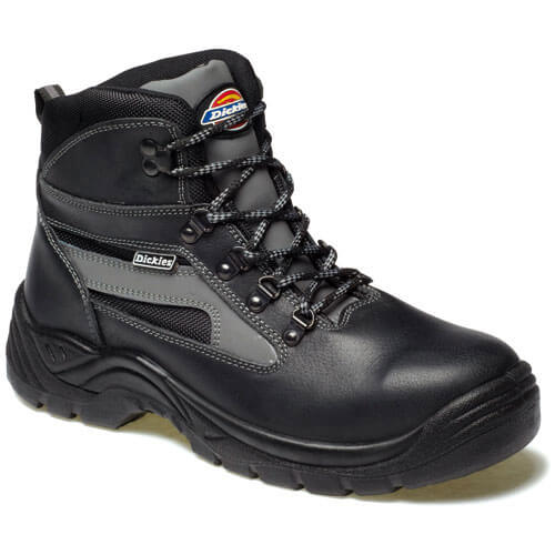 Dickies Mens Severn Safety Boots Black Size 9