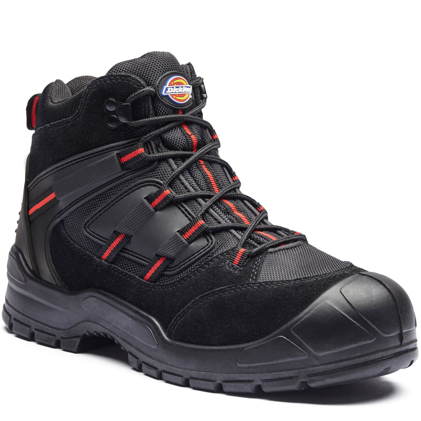 Dickies Mens Everyday Safety Work Boots Black