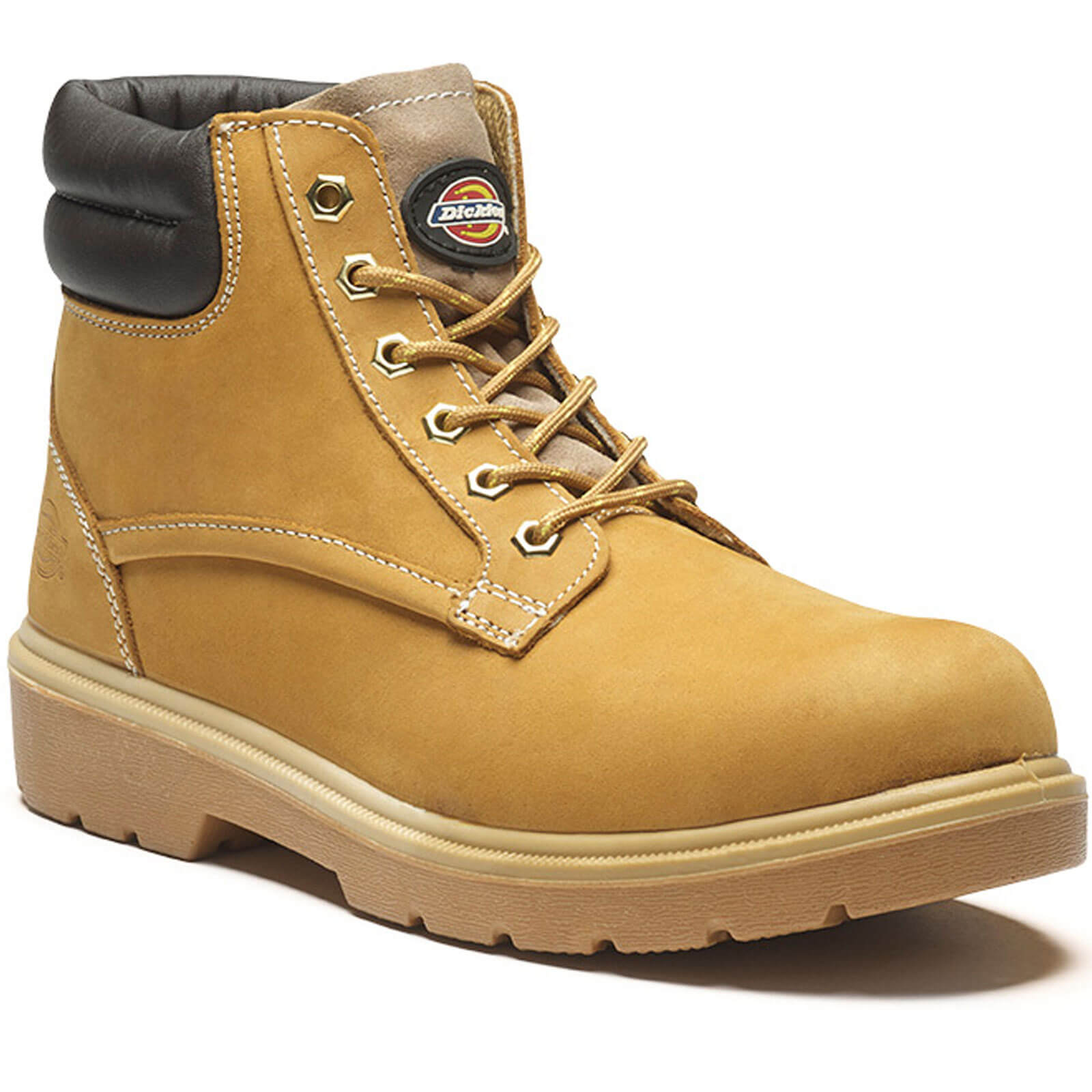 Dickies Mens Donegal Safety Boots Honey Size 5.5
