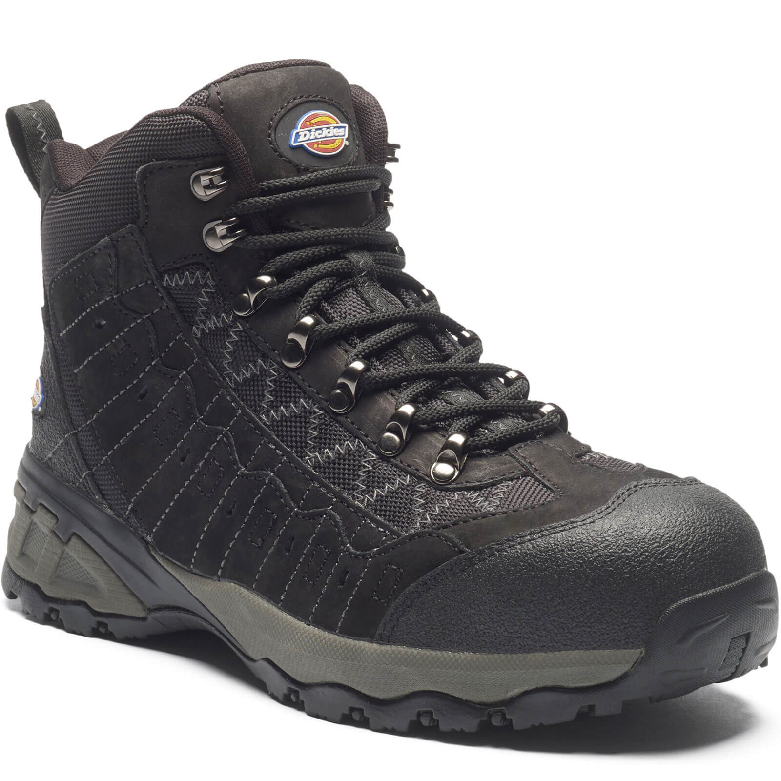 Dickies Mens Gironde Safety Boots Black